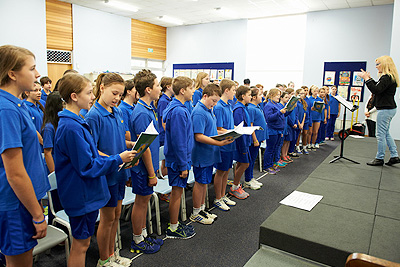 Choir at Braeview Primary School